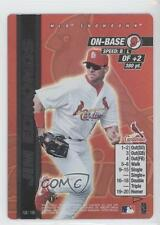 2000 MLB Showdown Pennant Run Edition 1 128 Jim Edmonds St. Louis Cardinals Card