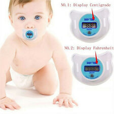 Infants LED Pacifier Thermometer Baby Health Safety Temperature Monitor Kids CA