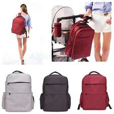 Large Rucksack Baby Mummy Diaper Nappy Changing Shoulder Computer Bag Backpack