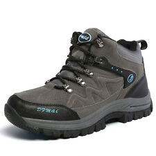 GOMNEAR big size lovers hiking outdoor boots high top waterproof non slip shoes