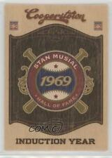 2012 Panini Cooperstown Hall of Fame Classes Induction Year #11 Stan Musial Card