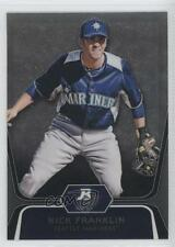 2012 Bowman Platinum Prospects Refractor #BPP54 Nick Franklin Seattle Mariners