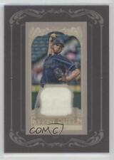 2012 Topps Gypsy Queen Framed Mini Relic #GQMR-JS James Shields Tampa Bay Rays