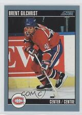 1992-93 Score Canadian #46 Brent Gilchrist Montreal Canadiens Hockey Card