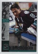 1997-98 Pinnacle Inside #38 Teemu Selanne Anaheim Ducks (Mighty of Anaheim) Card