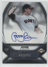 2010 Bowman Sterling Prospects Autographs Autographed #BSP-GB Gary Brown Auto