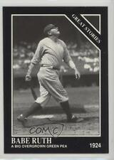 1992 The Sporting News Conlon Collection #426 Babe Ruth New York Yankees Card