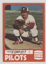 1980 TCMA Minor League #0995 Herb Orensky Peninsula Pilots Rookie Baseball Card