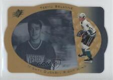 1996-97 SPx Gold #2 Teemu Selanne Anaheim Ducks (Mighty of Anaheim) Hockey Card