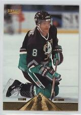 1996-97 Pinnacle 155 Teemu Selanne Anaheim Ducks (Mighty of Anaheim) Hockey Card