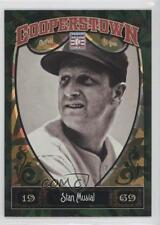 2013 Panini Cooperstown Collection Green Crystal Shard #56 Stan Musial Card