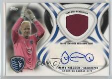 2013 Topps MLS Autographed Relics #AR-JN Jimmy Nielsen Sporting Kansas City Auto
