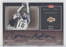 2005 Fleer Greats of the Game Autographed #GG-NN Norm Nixon Auto Basketball Card