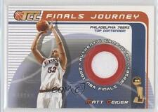 2001 Topps Champions and Contenders (TCC) Finals Journey #FJ-MG Matt Geiger Card
