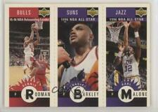 1996 Upper Deck Mini-Cards #M83-65-14 Dennis Rodman Charles Barkley Karl Malone