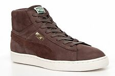 NEW 2016/17 PUMA SUEDE HI TOPS CLASSIC LEATHER TRAINERS BOOTS