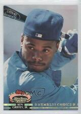 1992 Topps Stadium Club #603 Members Choice Ken Griffey Jr Seattle Mariners Jr.