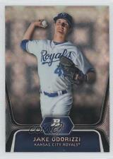 2012 Bowman Platinum Prospects X-Fractor #BPP29 Jake Odorizzi Kansas City Royals