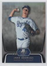 2012 Bowman Platinum Prospects Refractor #BPP29 Jake Odorizzi Kansas City Royals