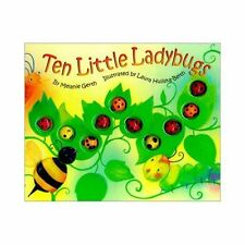 TEN LITTLE LADYBUGS HARDCOVER BOOK *BRAND NEW* ~Melanie Gerth~