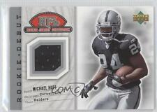 2006 Upper Deck Rookie Debut NFL Jersey Collection #79TE Michael Huff Card