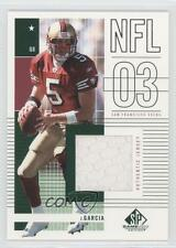 2003 SP Game Used Edition #144 Jeff Garcia San Francisco 49ers Football Card