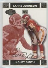 2007 Topps Co-Signers Red Changing Faces Gold #73 Kolby Smith Kansas City Chiefs