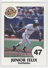 1990 Toronto Blue Jays Fire Safety #47 Junior Felix Baseball Card