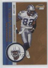 2001 Pacific Invincible #79 Germane Crowell Detroit Lions Football Card