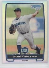 2012 Bowman Chrome Prospects Refractor BCP87 Danny Hultzen Seattle Mariners Card