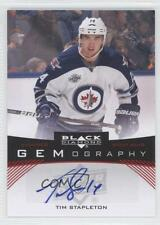 2012 Upper Deck Black Diamond Gemography Autographed #GEM-TS Tim Stapleton Auto