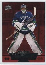 2012 Upper Deck Black Diamond Ruby #107 Double Roberto Luongo Vancouver Canucks