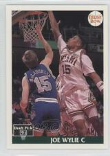 1991-92 Front Row Japanese #36 Joe Wylie Miami (FL) Hurricanes Basketball Card