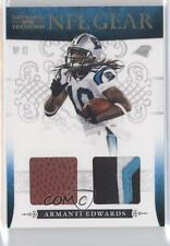 2010 Playoff National Treasures NFL Gear Combos Prime #20 Armanti Edwards Card