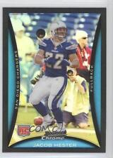 2008 Bowman Chrome Refractor BC105 Jacob Hester San Diego Chargers Football Card