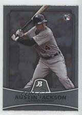 2010 Bowman Platinum #79 Austin Jackson Detroit Tigers RC Rookie Baseball Card