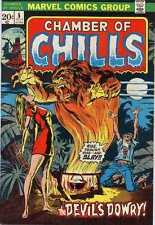Chamber of Chills (1972 series) #5 in Fine + condition. FREE bag/board