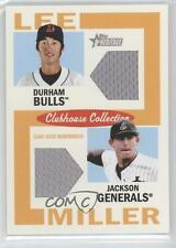 2013 Topps Heritage Minor League Edition #CCDR-LM Hak-Ju Lee Brad Miller Card
