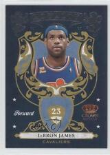 2009-10 Crown Royale Royalty #2 Lebron James Cleveland Cavaliers Basketball Card