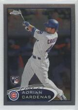 2012 Topps Chrome #187 Adrian Cardenas Chicago Cubs RC Rookie Baseball Card