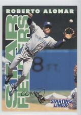 1996 Starting Lineup Cards #12 Roberto Alomar Toronto Blue Jays Baseball Card