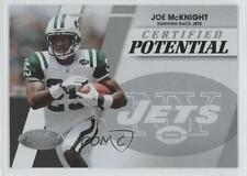 2010 Certified Potential #4 Joe McKnight New York Jets Rookie Football Card