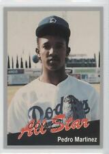 1991 Cal League California All-Stars #1 Pedro Martinez Bakersfield Dodgers Card