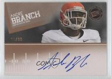 2012 Press Pass Signings Bronze #PPS-AB Andre Branch Clemson Tigers Auto Card