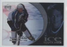 1997-98 Upper Deck Ice #80 Teemu Selanne Anaheim Ducks (Mighty of Anaheim) Card