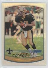 1999 Topps Chrome Refractor #79 Kerry Collins New Orleans Saints Football Card