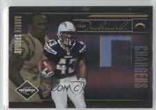 2010 Panini Limited Team Trademarks Materials Prime #5 Darren Sproles Card