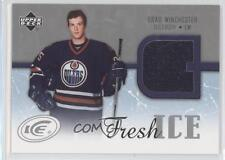 2005-06 Upper Deck Ice Fresh #FI-BW Brad Winchester Edmonton Oilers Hockey Card