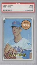 1969 Topps #88 Rich Nye PSA 9 Chicago Cubs Baseball Card