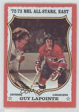 1973-74 O-Pee-Chee #114 Guy Lapointe Montreal Canadiens Hockey Card